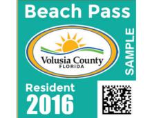 2016 Annual Resident Beach Pass