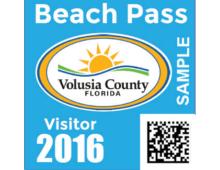 2016 Annual Visitor Beach Pass
