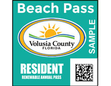 Renewable Annual Resident Beach Pass